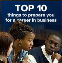 Top 10 things to prepare for a career in business